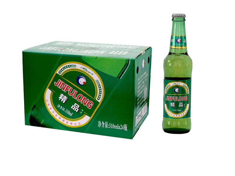 张家港精酿啤酒加盟-330ml精品绿瓶装