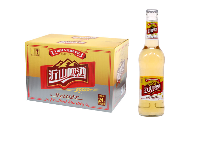 精酿啤酒加盟-330ml沂山红啤酒