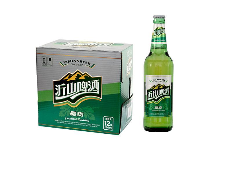 啤酒招商加盟-500ml沂山晶爽啤酒