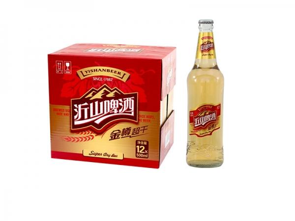 昆山啤酒招商加盟-500ml 金樽超干 白瓶