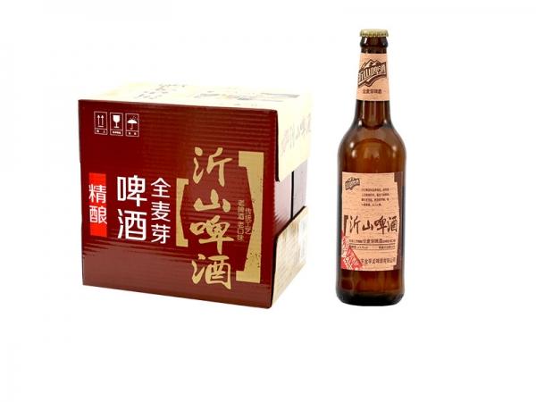 昆山啤酒招商加盟-500ml全麦芽啤酒棕瓶