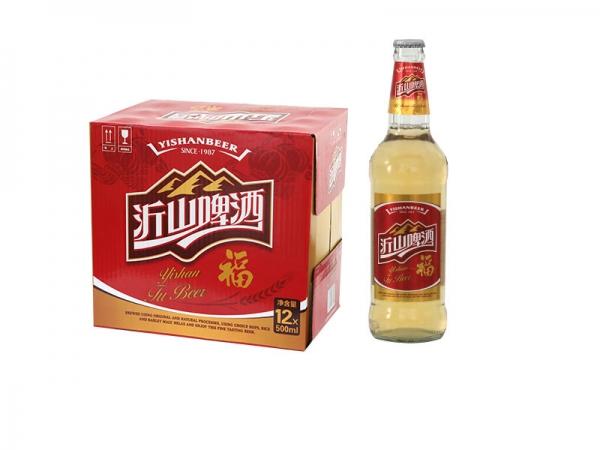 北京啤酒招商加盟-500ml 沂山福啤酒