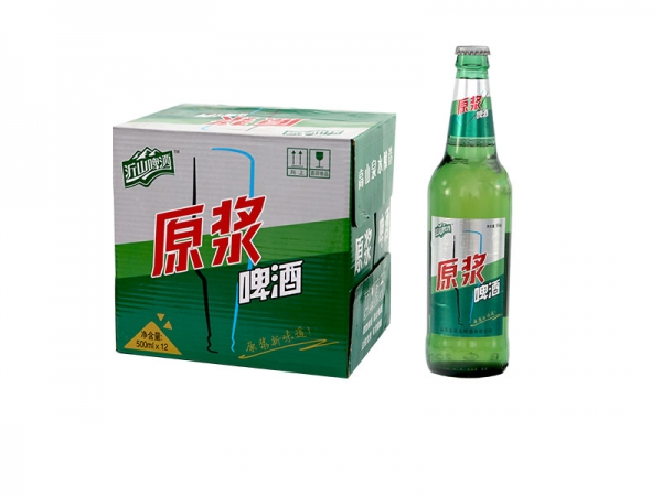 啤酒招商加盟-500ml沂山原浆啤酒