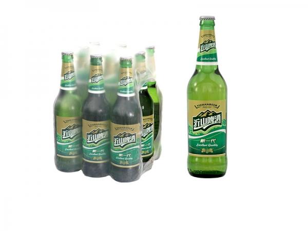 590ml沂山新一代啤酒绿瓶装
