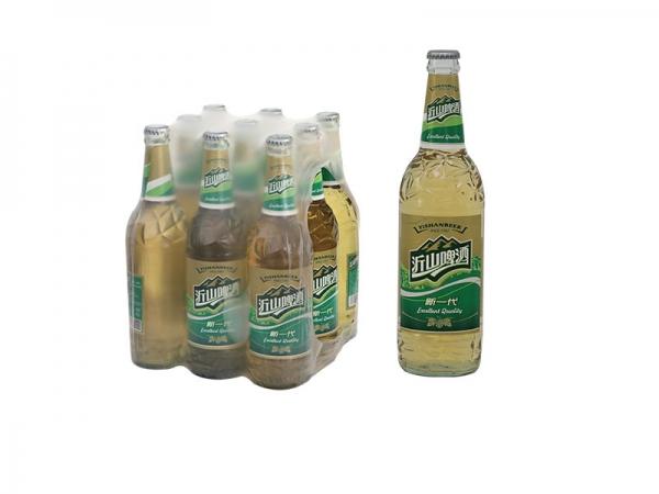 590ml沂山新一代啤酒白瓶装