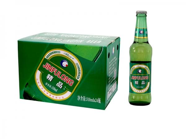吴江精酿啤酒加盟-330ml精品绿瓶装