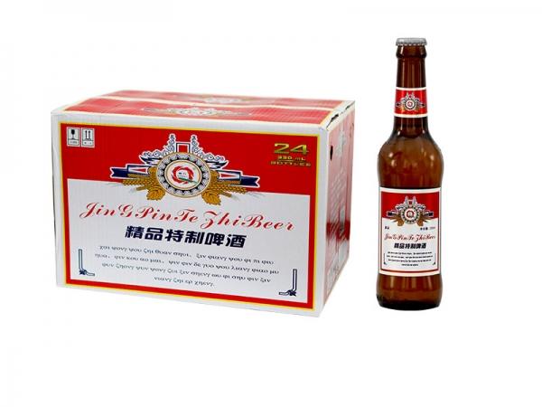 北京精酿啤酒加盟-330ml精品棕瓶装