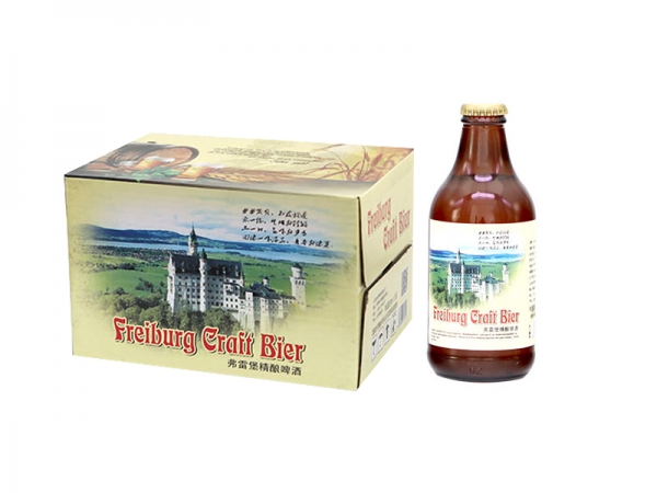 昆山296ml弗雷堡精酿啤酒
