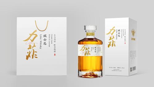 江苏力菲42度威士忌